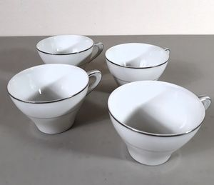 Modern China Set of 4 Cups